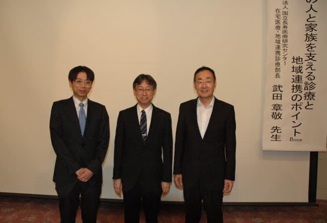 武田先生と記念写真2
